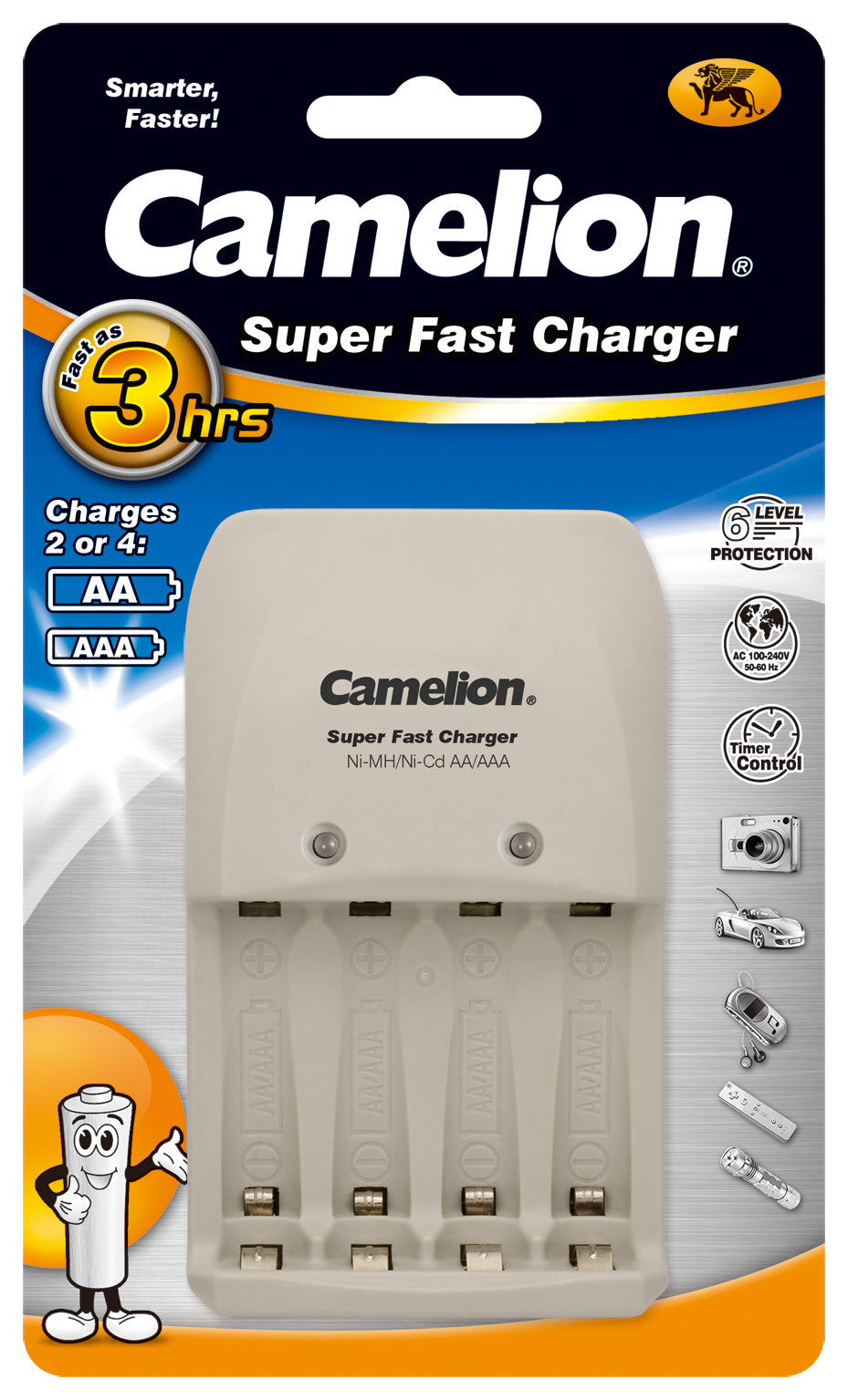 Camelion Super Fast AA & AAA Charger