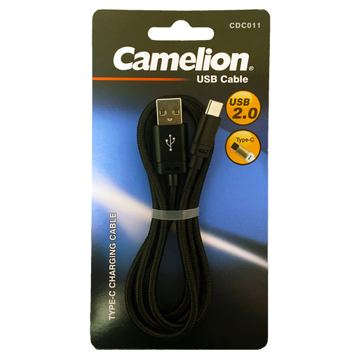Nylon 3FT Type-C USB Charging Cord