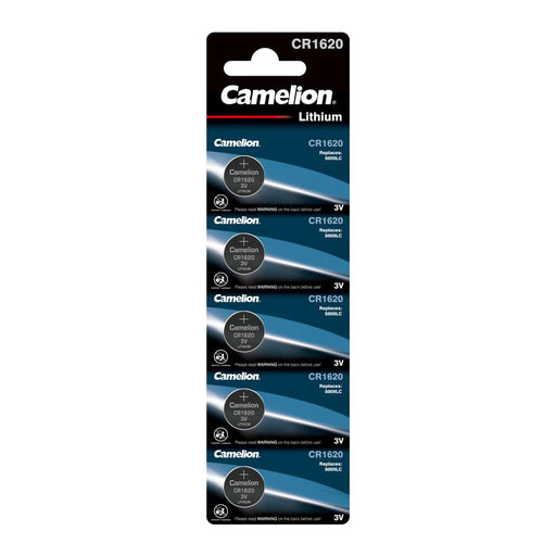 Camelion CR1620 3V Lithium Coin Cell Battery