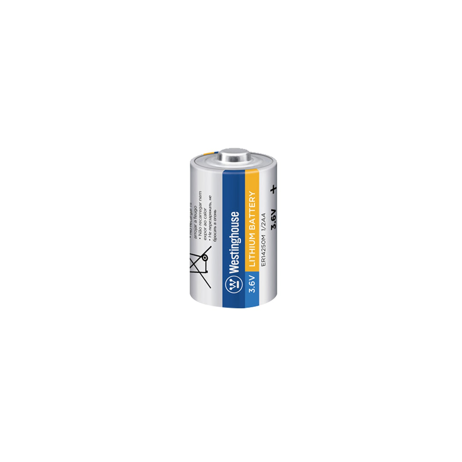 ER14250 1/2AA Size 3.6V Lithium Primary Battery for Specialized Devices Bulk