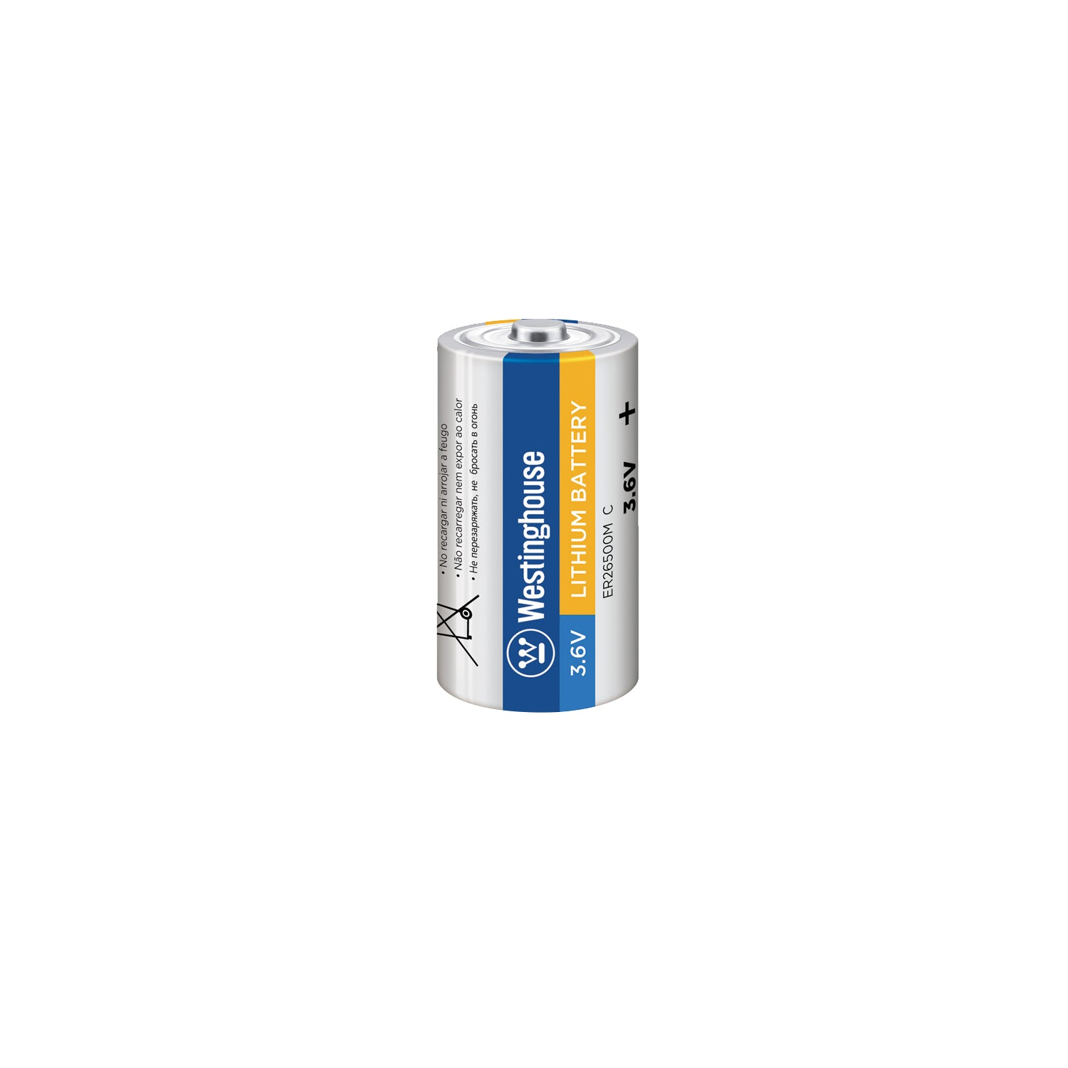 ER26500 C Size 3.6V Lithium Primary Battery for Specialized Devices Bulk