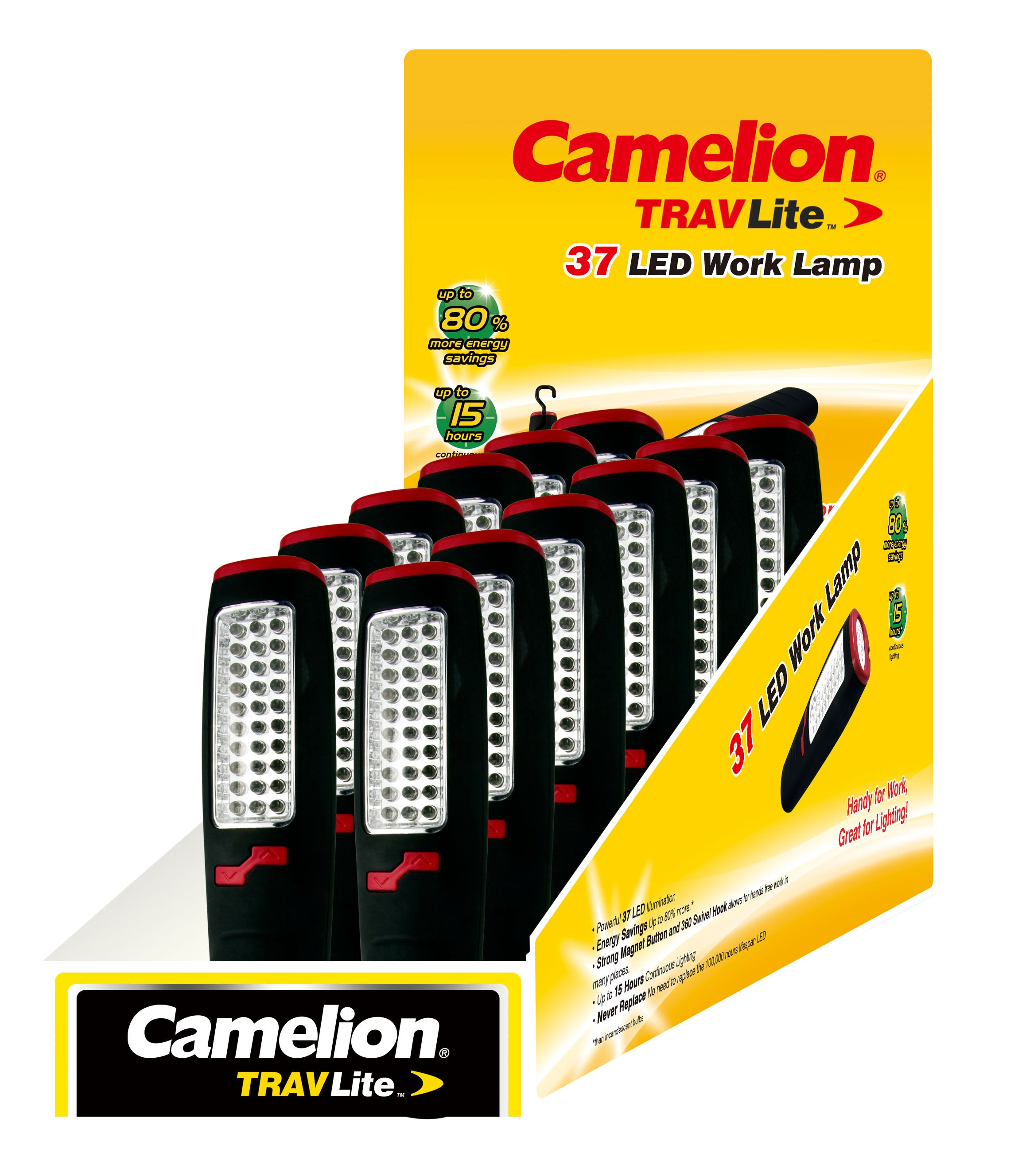 37 LED Worklight Display of 12