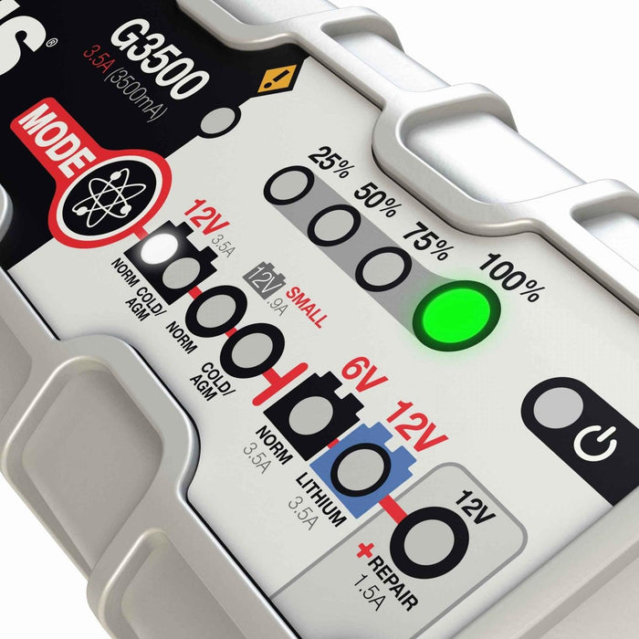 G3500 6V & 12V 3.5A UltraSafe Battery Charger and Maintainer