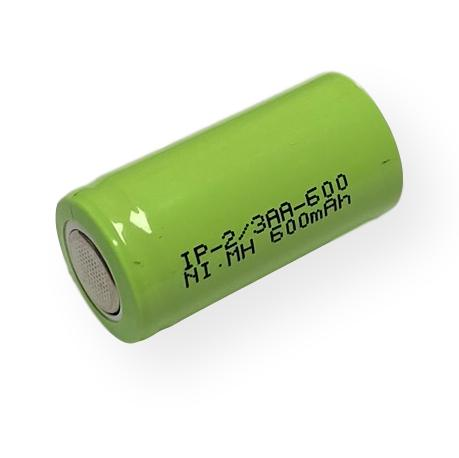 Power Pro 2/3AA 600mAh Flat Top Battery