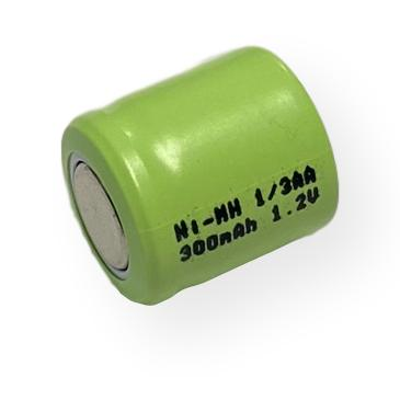 Power Pro 1/3AA 300mAh Ni-Mh Flat Top Battery