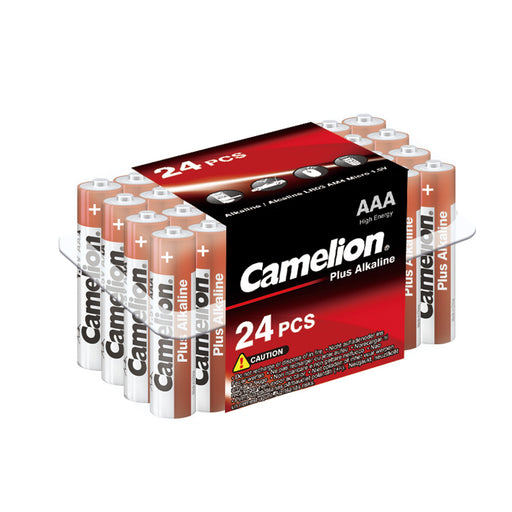 Camelion AAA Alkaline Plus Plastic Tub of 24