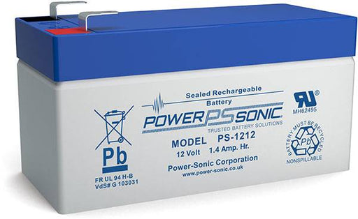 Power Sonic PS-1212-F1 12 Volt 1.3Ah F1 Terminal