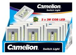 Camelion  2 x 3W 250 LUMEN COB LED SWITCH LIGHT Disp of 12