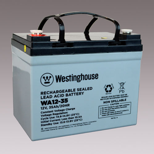 wholesale, wholesale batteries, sla, sealed lead acid batteries, WA12-35, 12V 35Ah, F11 terminal