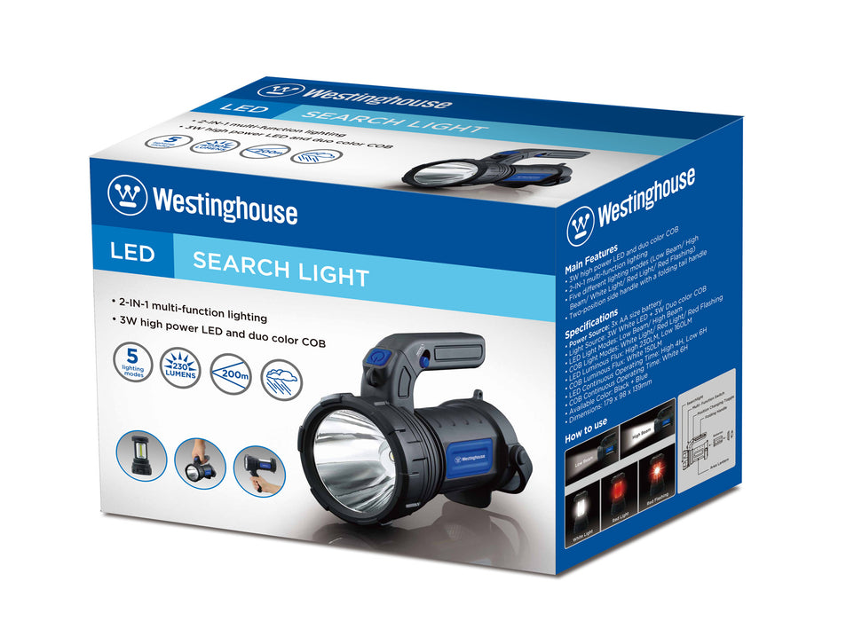 wholesale, westinghouse LED, search light, LED light, camping light, travel light