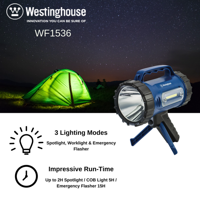 wholesale, wholesale flashlights, wholesale work lights, search light, area light, mobile power bank, camping light, hiking light, travel light, westinghouse