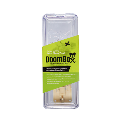 DoomBox Enclosed Mouse - Keeps the Trap (&mice( from Pets & Kids at Play