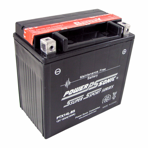 wholesale, power sonic, power sport batteries, PTX14L-BS