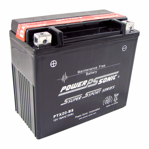 Power Sonic PTX20-BS Power Sport Battery