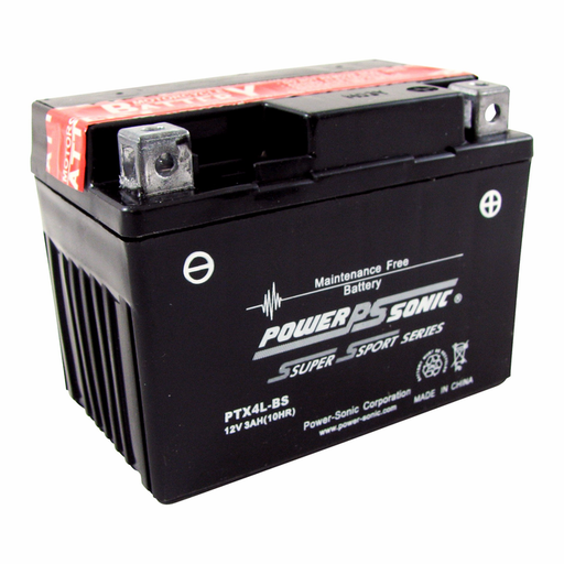 wholesale, wholesale batteries, powersonic, power sonic, power sport batteries, PTX4L-BS