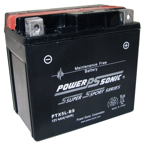 wholesale, wholesale batteries, powersonic power sonic, power sport batteries, PTX5L-BS