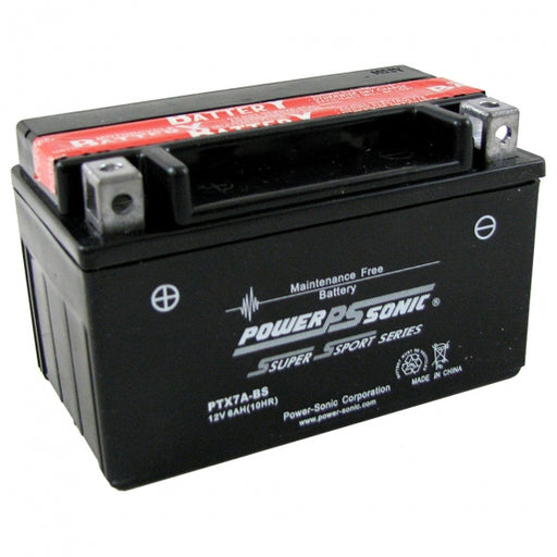 wholesale, wholesale batteries, power sonic, powersonic, PTX7A-BS, power sport battery