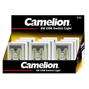 Camelion 6W COB Dimmer Light Display of 12