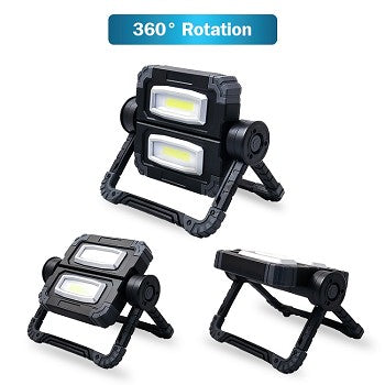 wholesale, wholesale work lights, worklights, garage lights, shop lights, dual work light, COB LED light, 20W light, flashlights, wholesale flashlight, wholesale area lighting