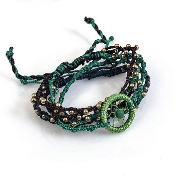 Balinese Handmade Stackable Bracelets - 48 PC Display