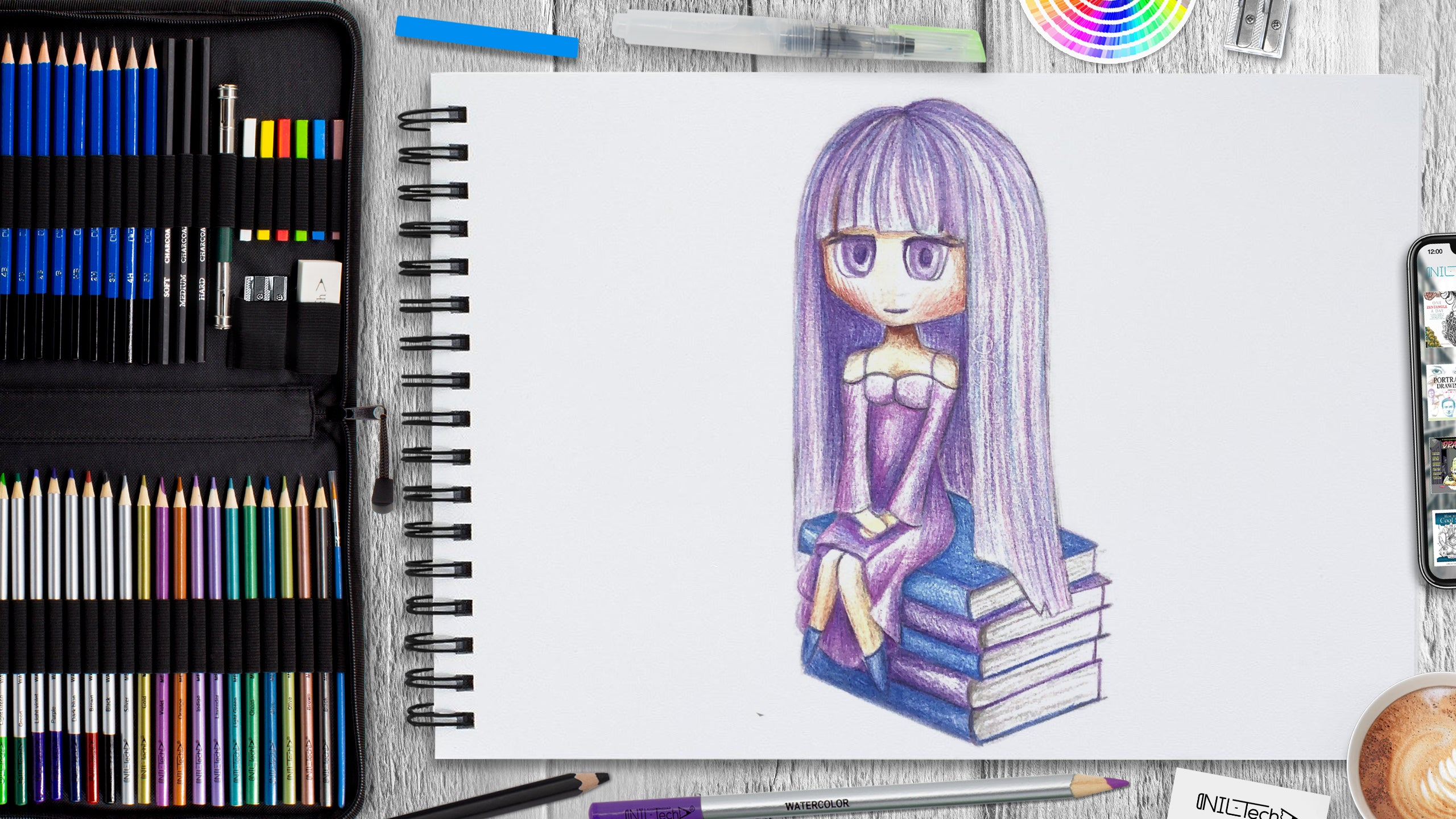 How To Draw an Anime Character