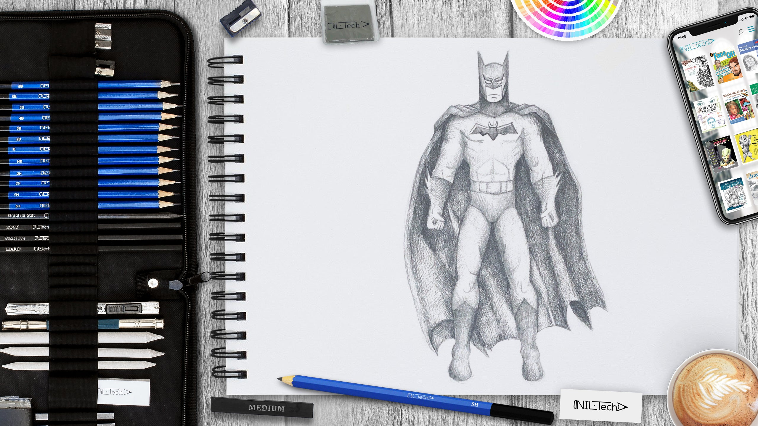 How to Draw Batman Step by Step