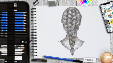 How to Draw Braids