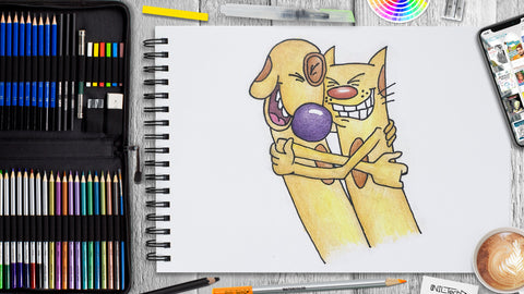 How to Draw CatDog