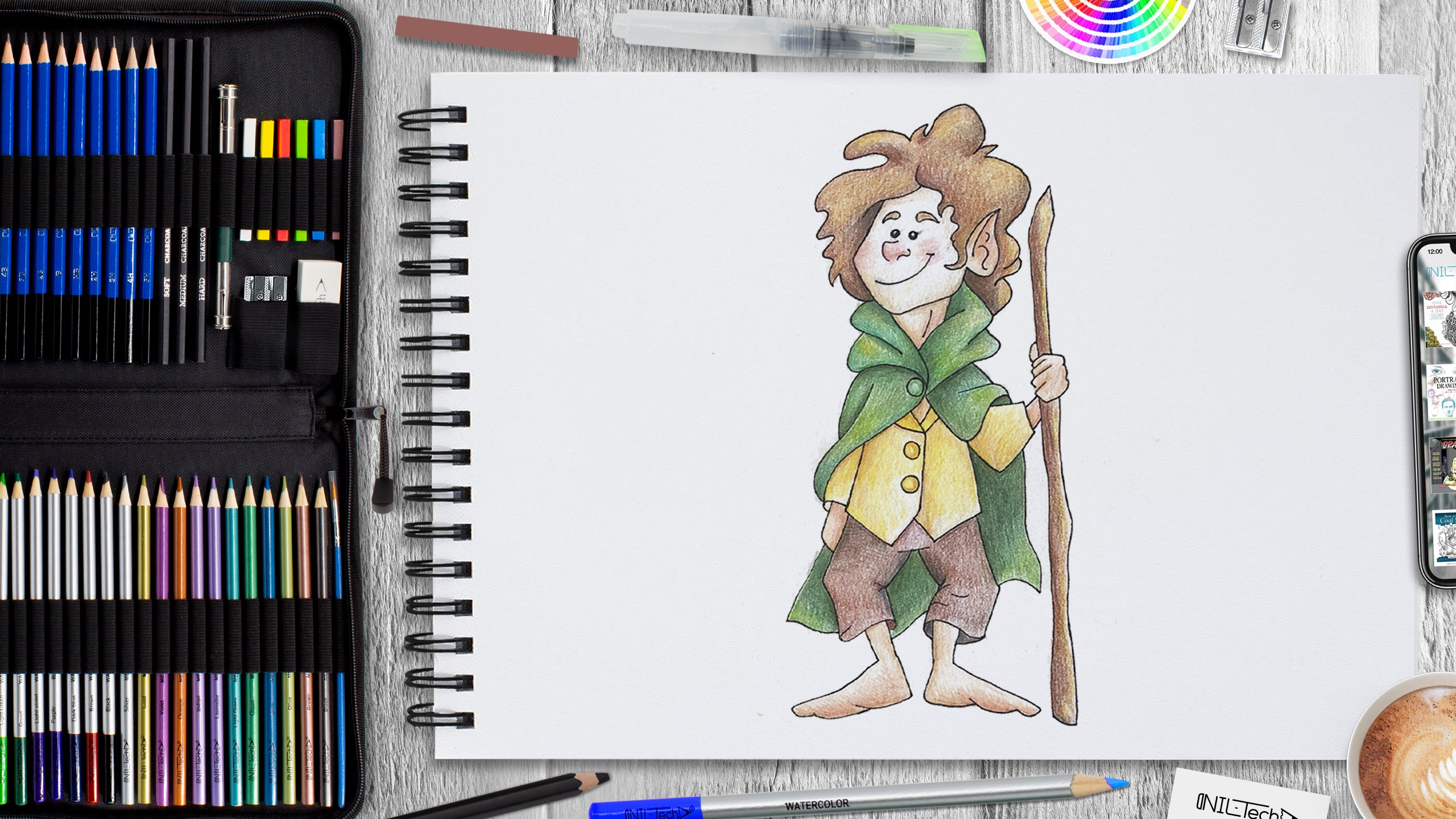 How to Draw a Hobbit Step by Step