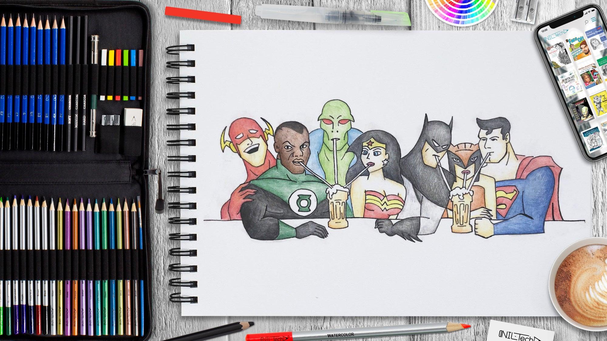 How to Draw Justice League