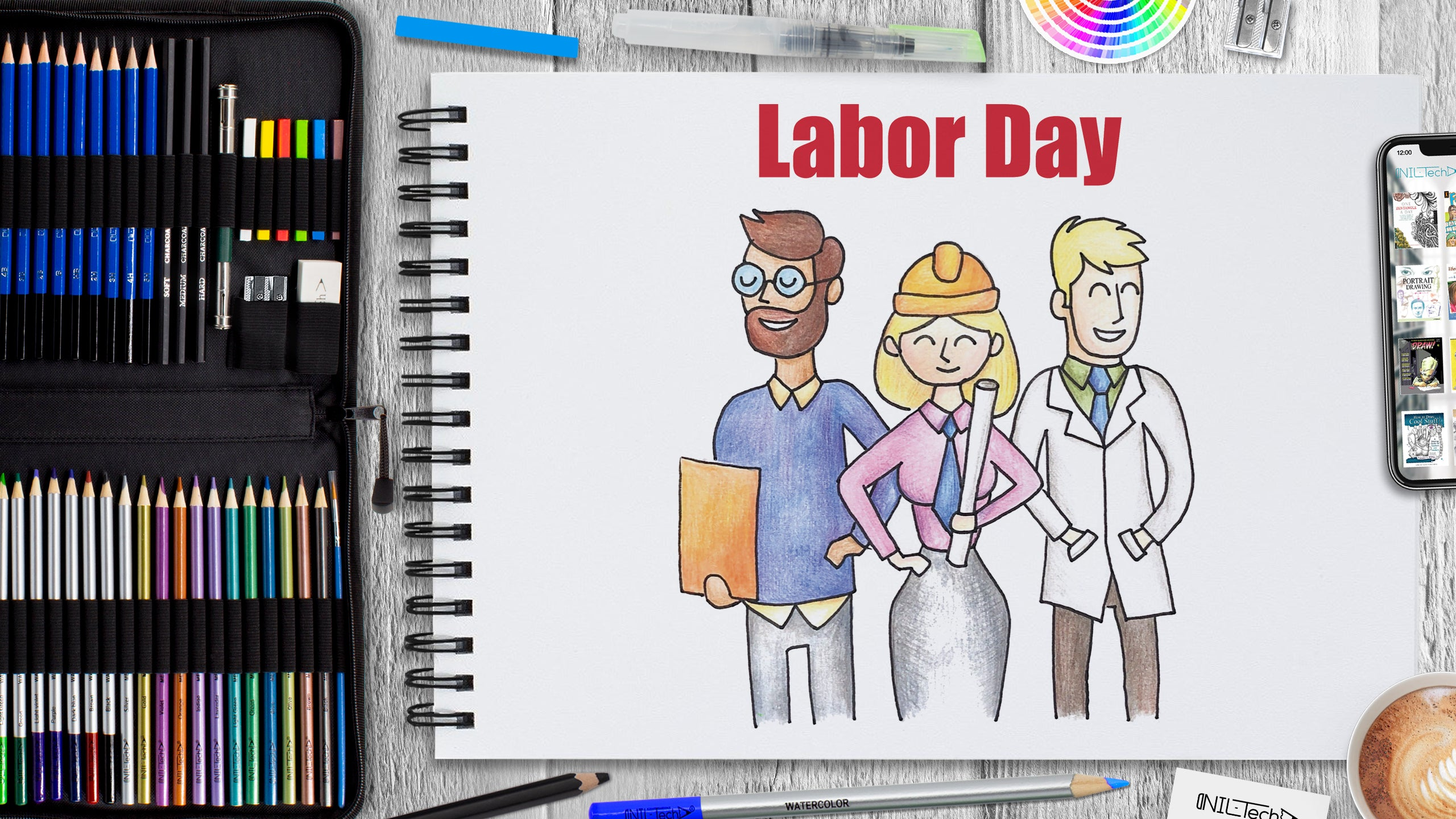 Labor Day Drawing