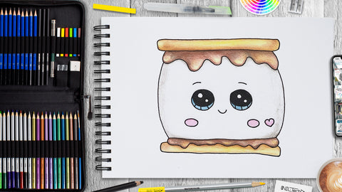 How to Draw a Marshmallow