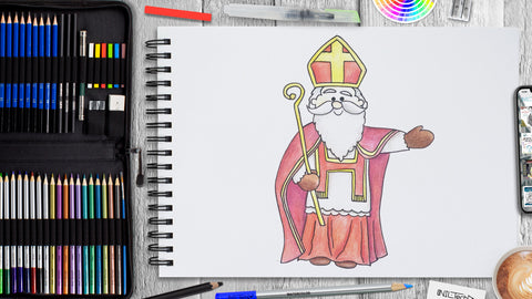 How to Draw St. Nicholas