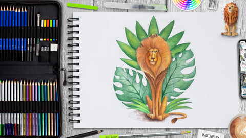 How to Draw Lion: World Wildlife Day