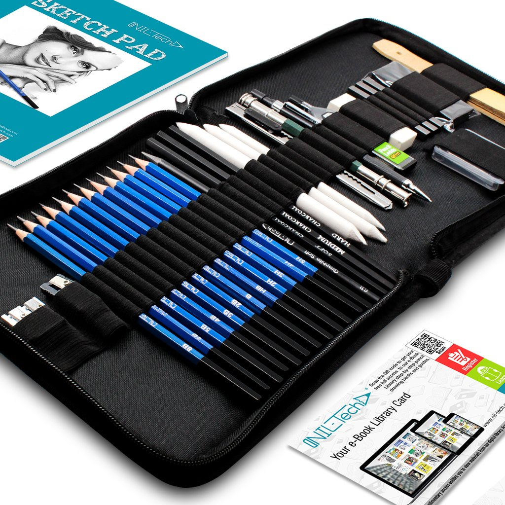 art pencil drawing set