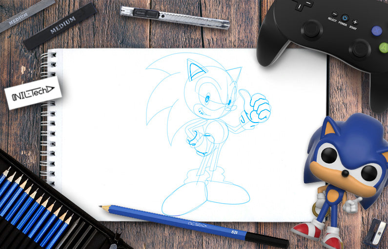 pictures of sonic the hedgehog