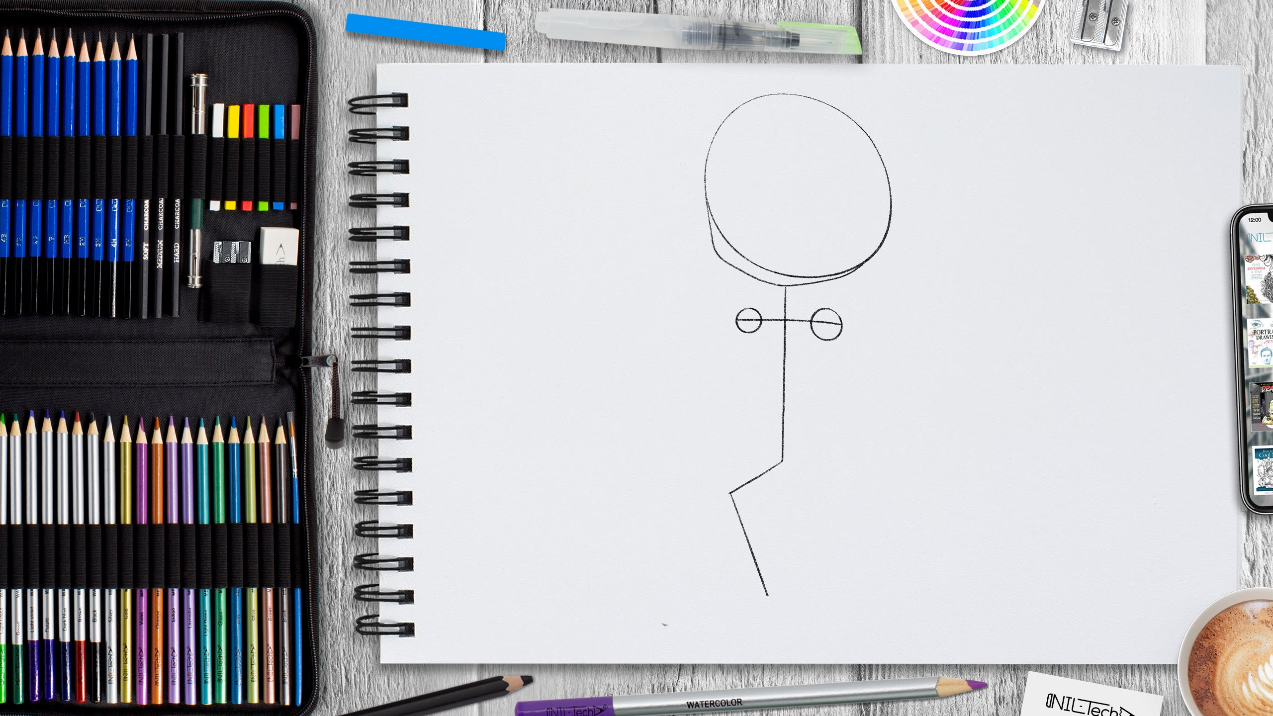 how to start drawing anime