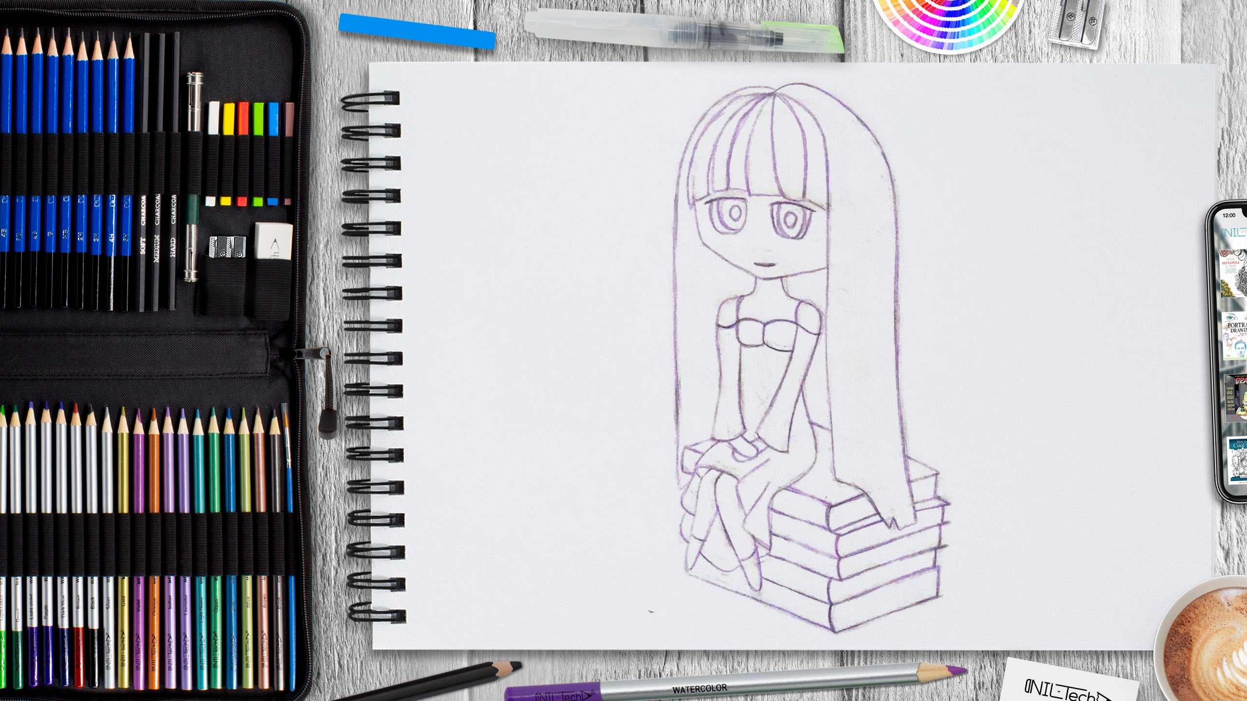 how to improve drawing anime