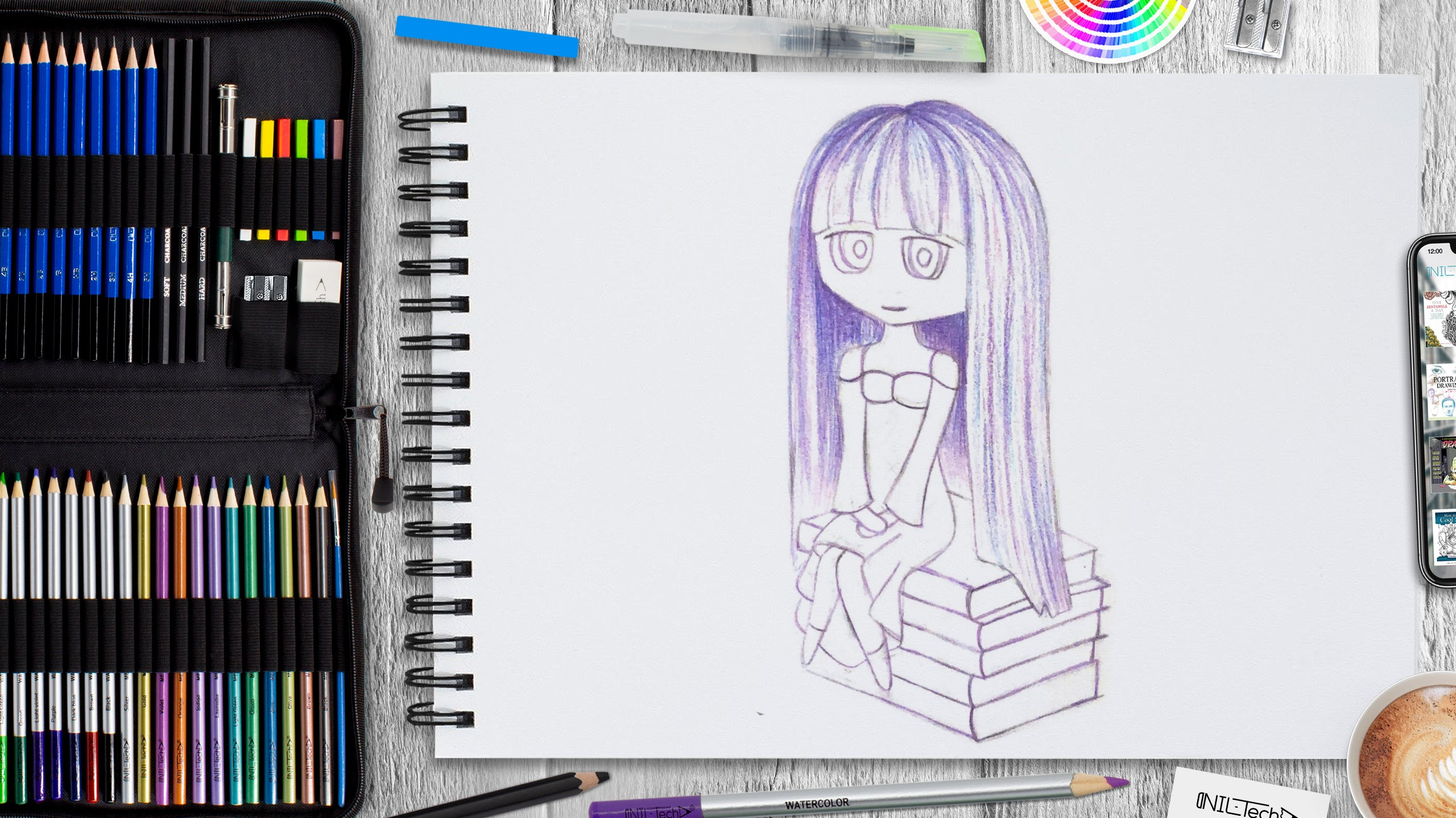 how to make money drawing anime
