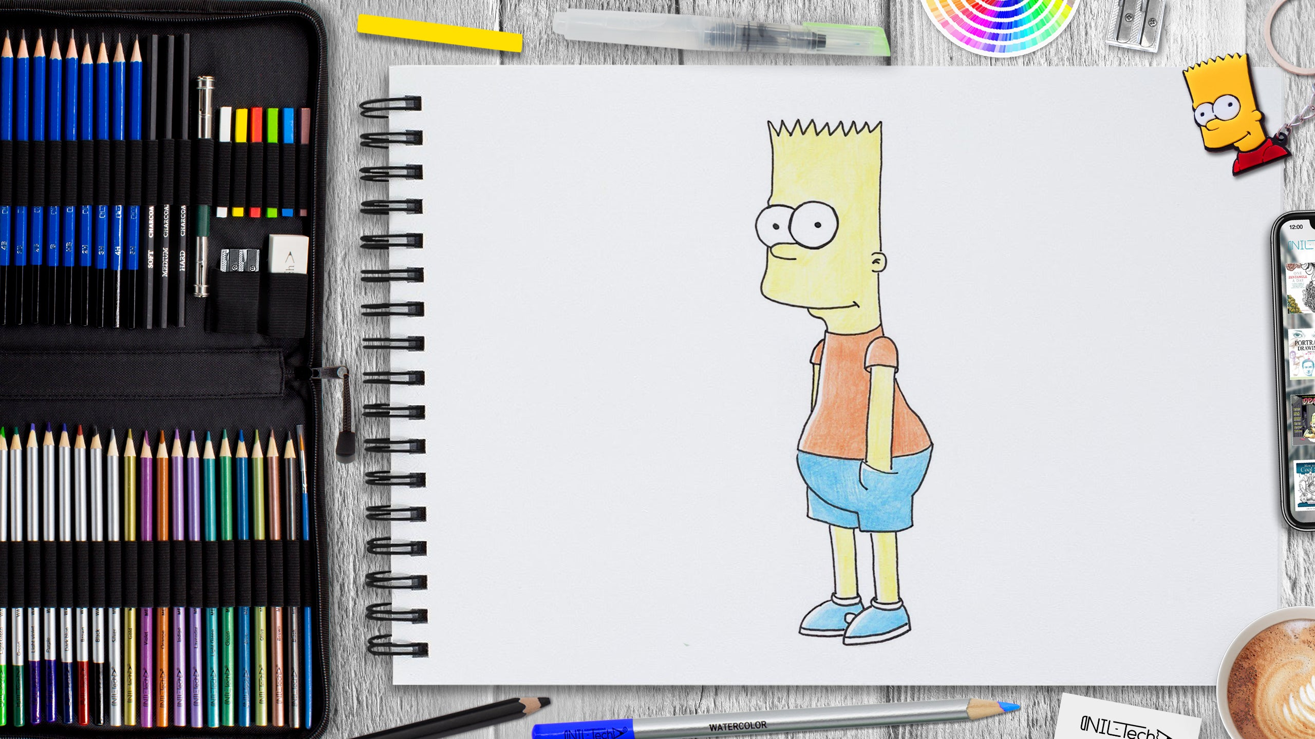 bart simpson depressed