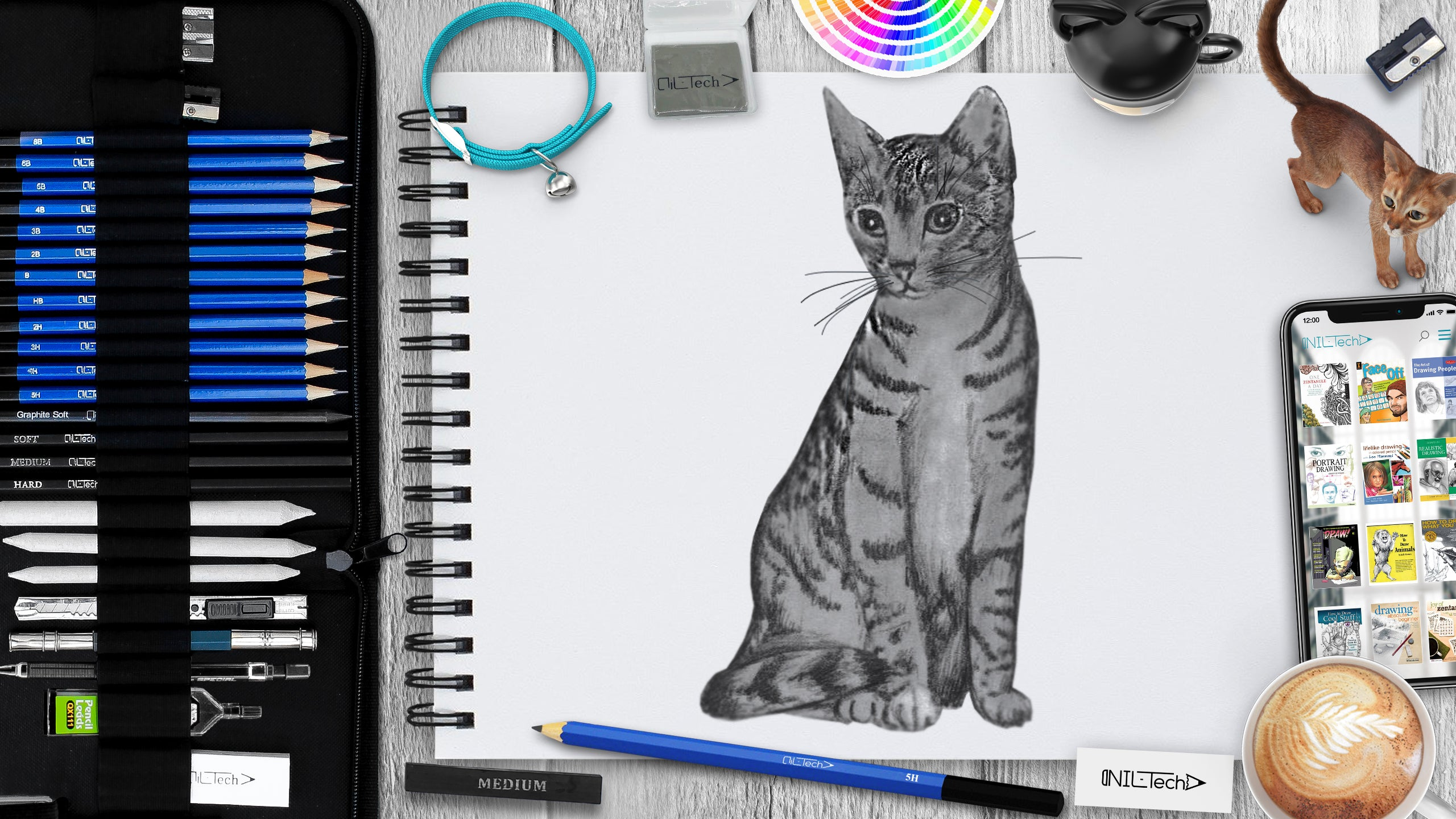 How to draw a cat step by step 9