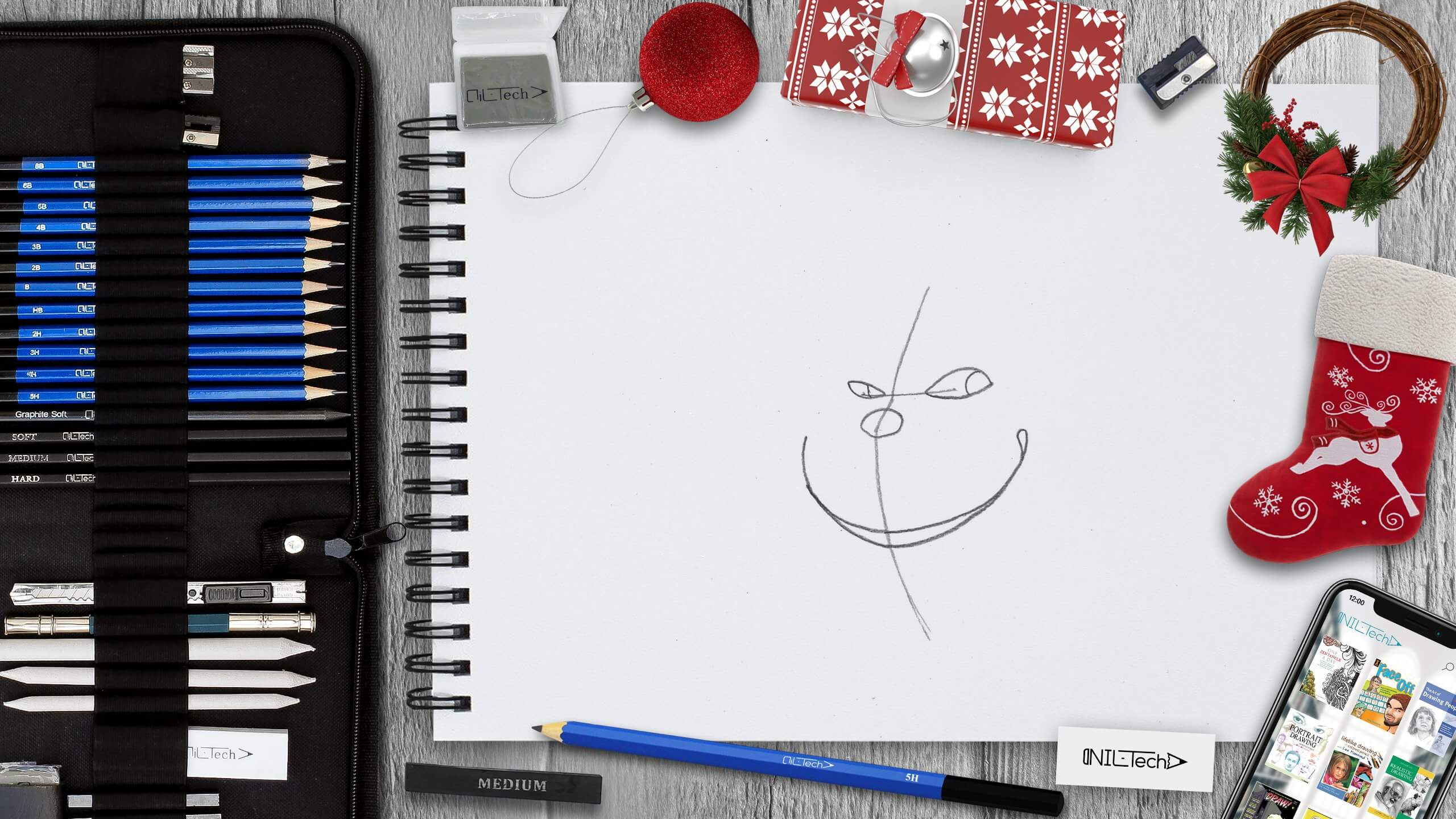 the grinch how to draw