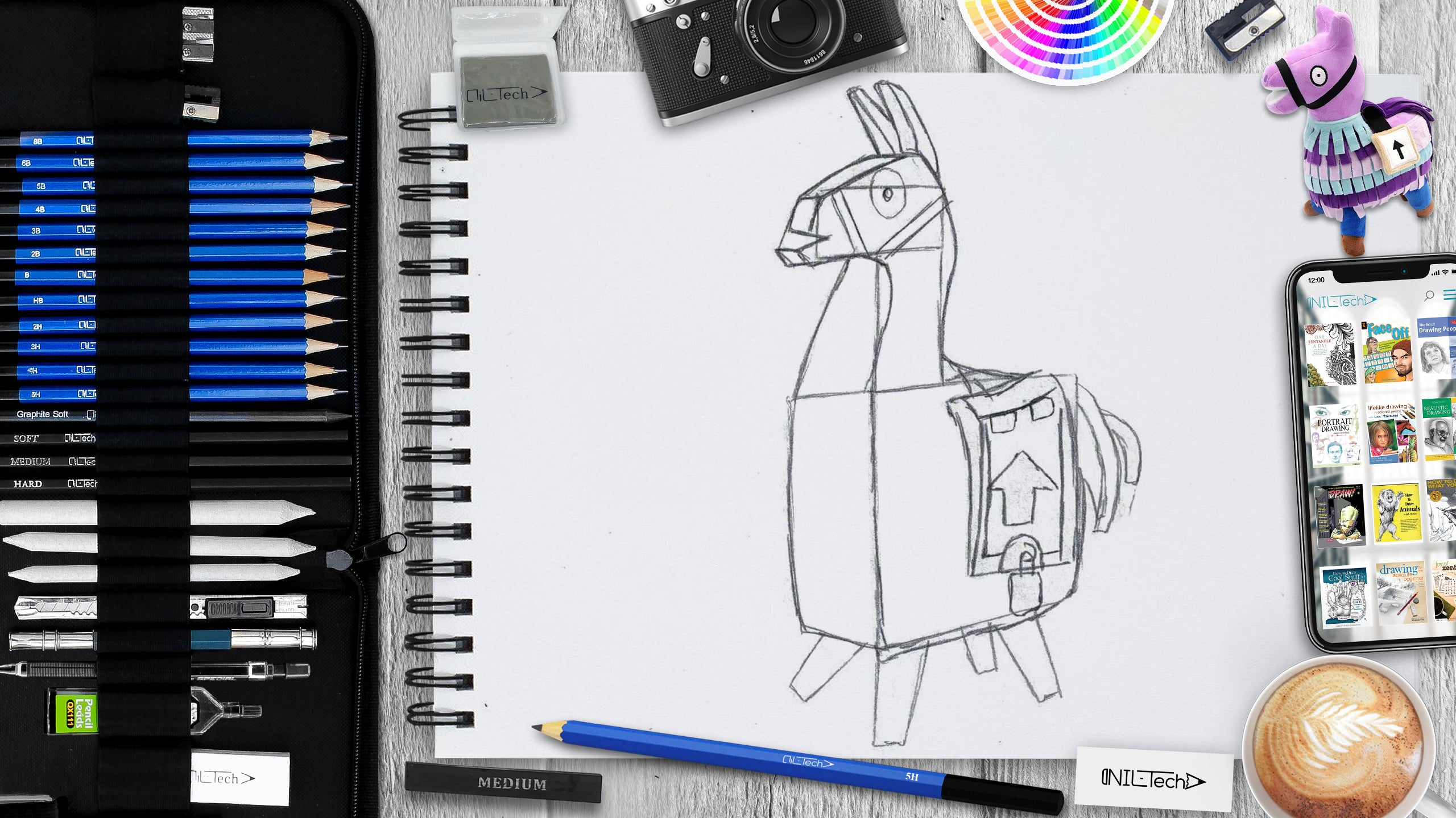 How to Draw a Llama