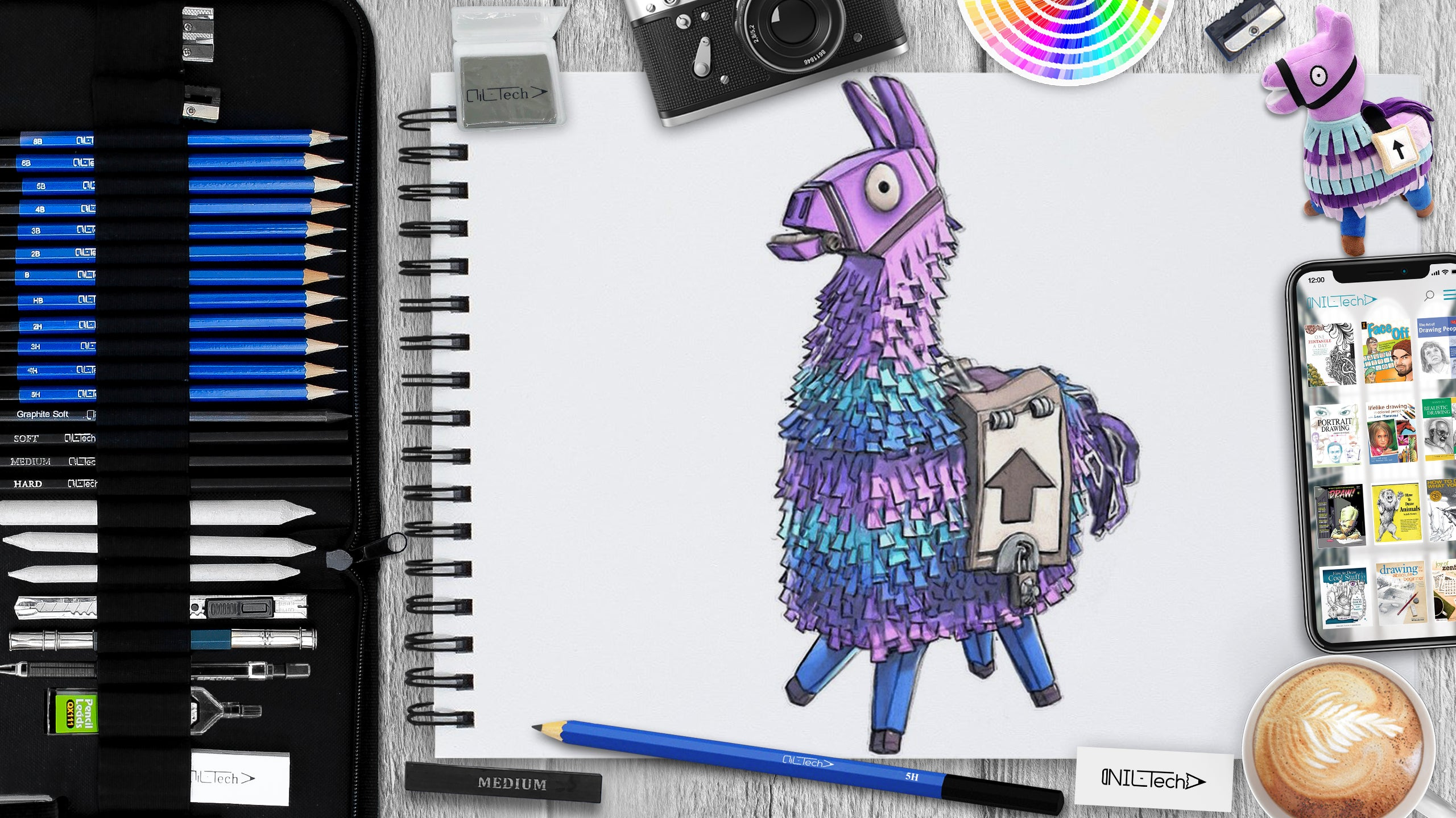 How to Draw a Fortnite Llama