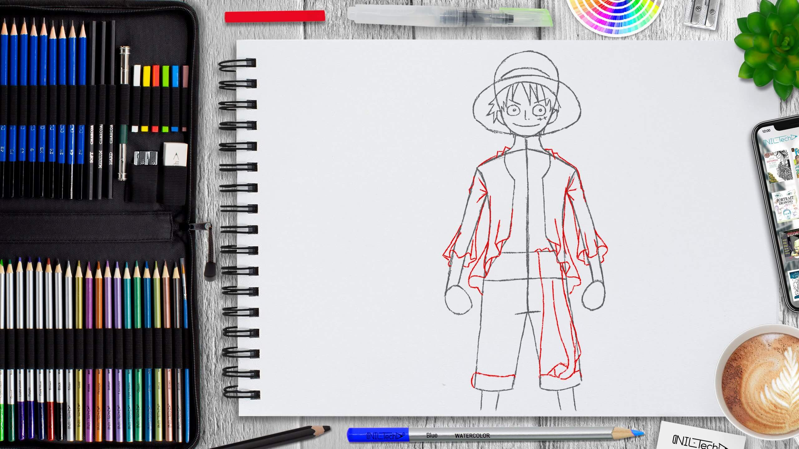 one piece drawing tutorial for beginners