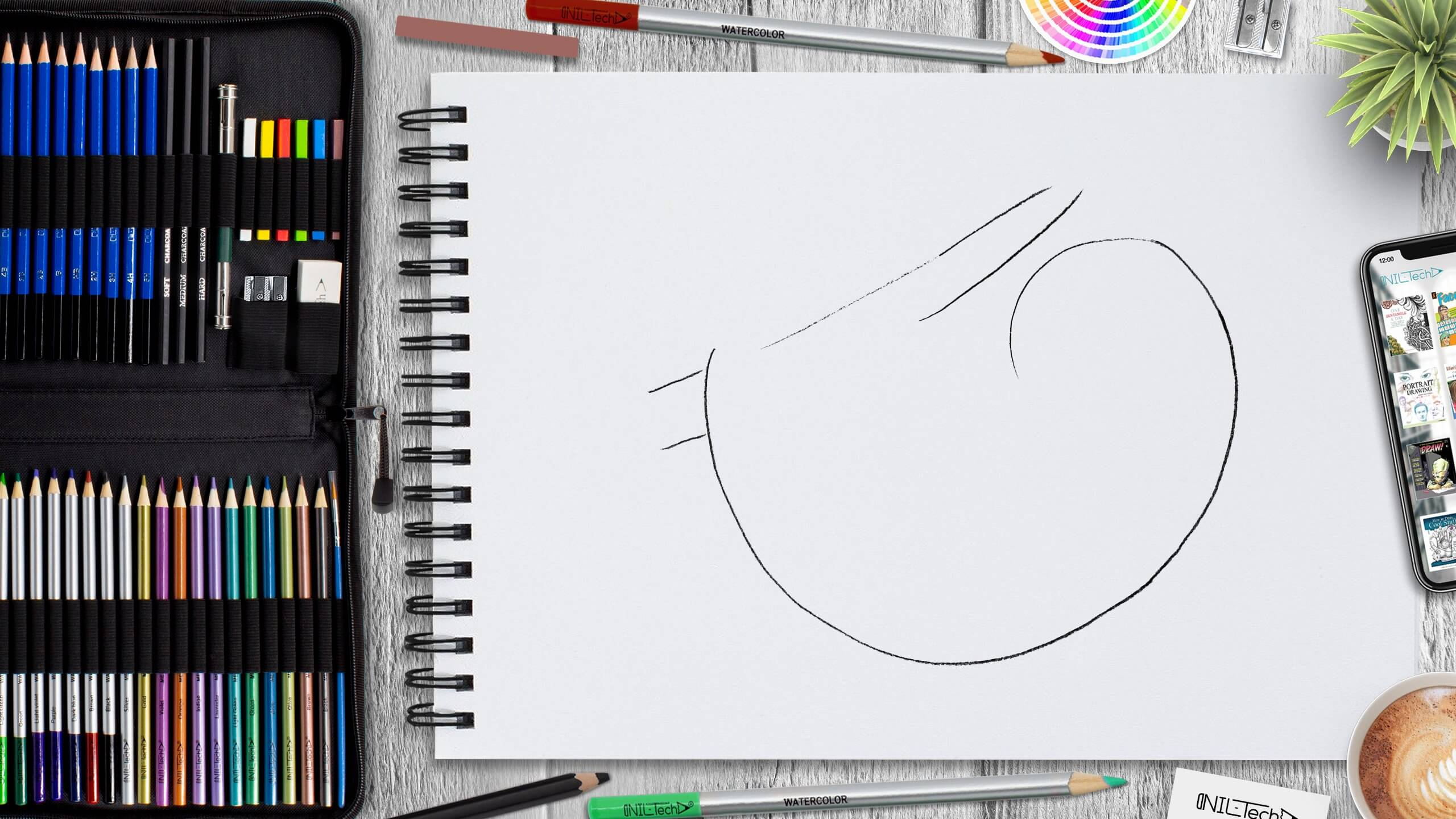 how to draw a sloth step by step