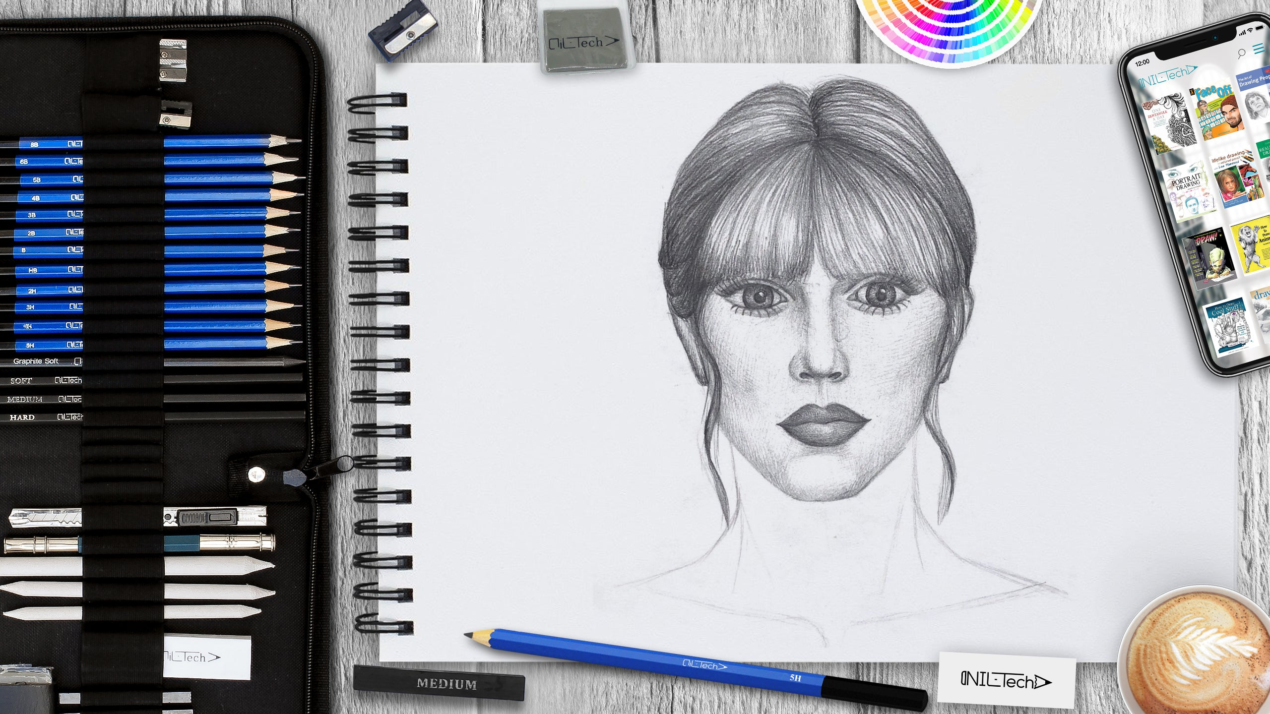 how to draw taylor swift step by step easy