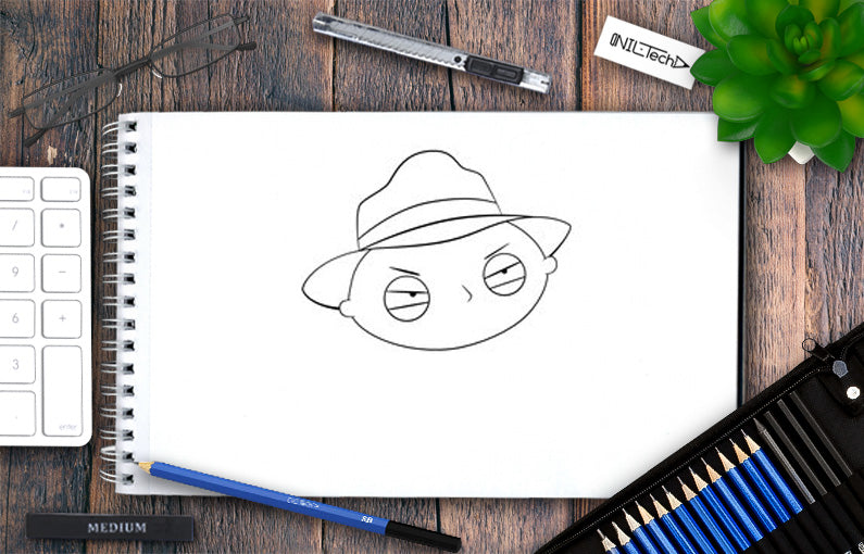HOW TO DRAW Stewie Griffin