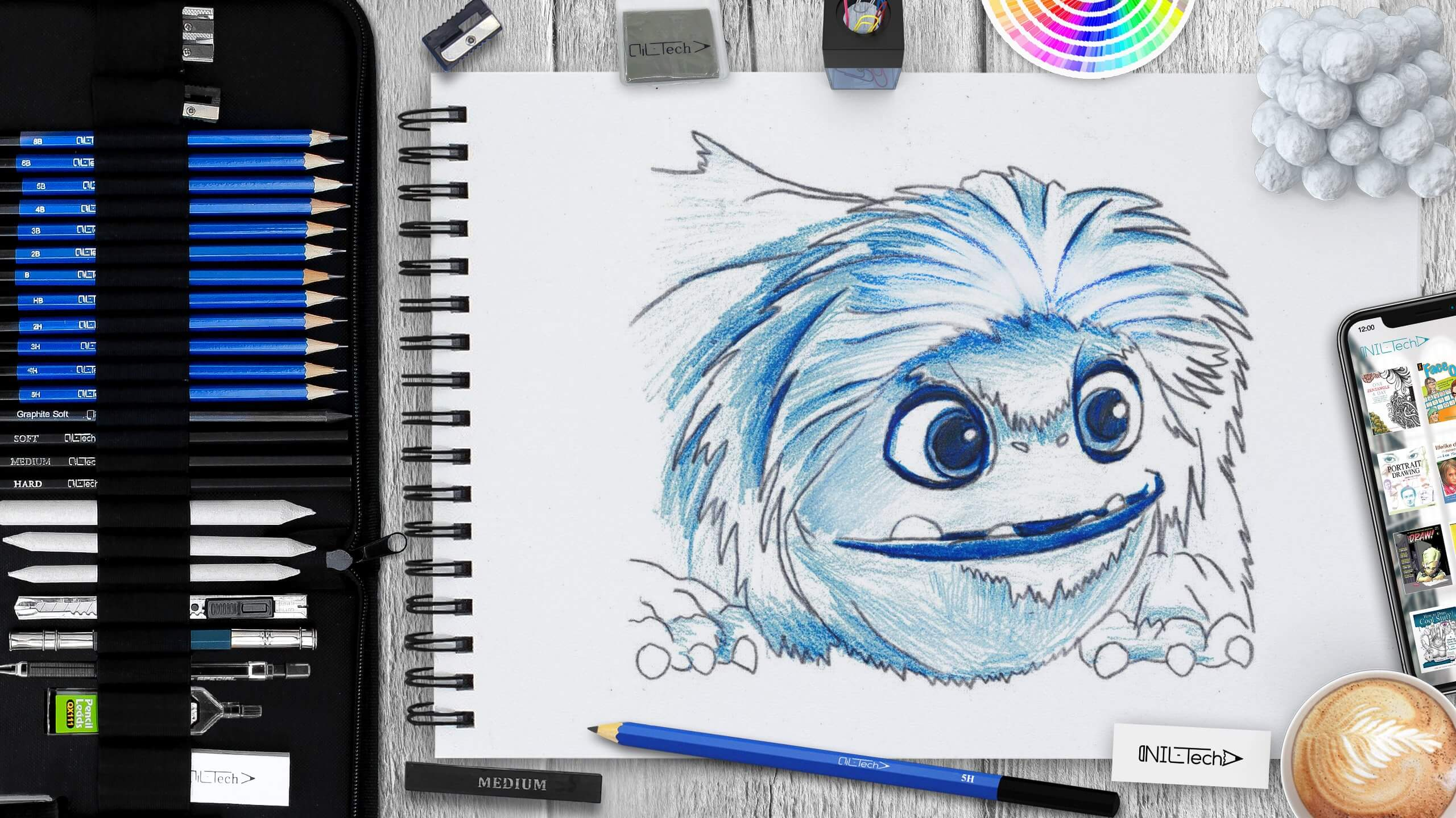 learn how to draw yeti from 2019 abominable