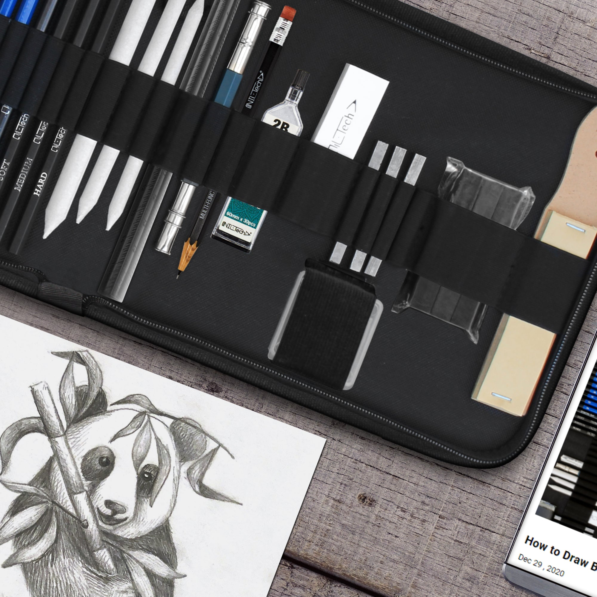 Drawing Pencils – 37 Sketching Art Set
